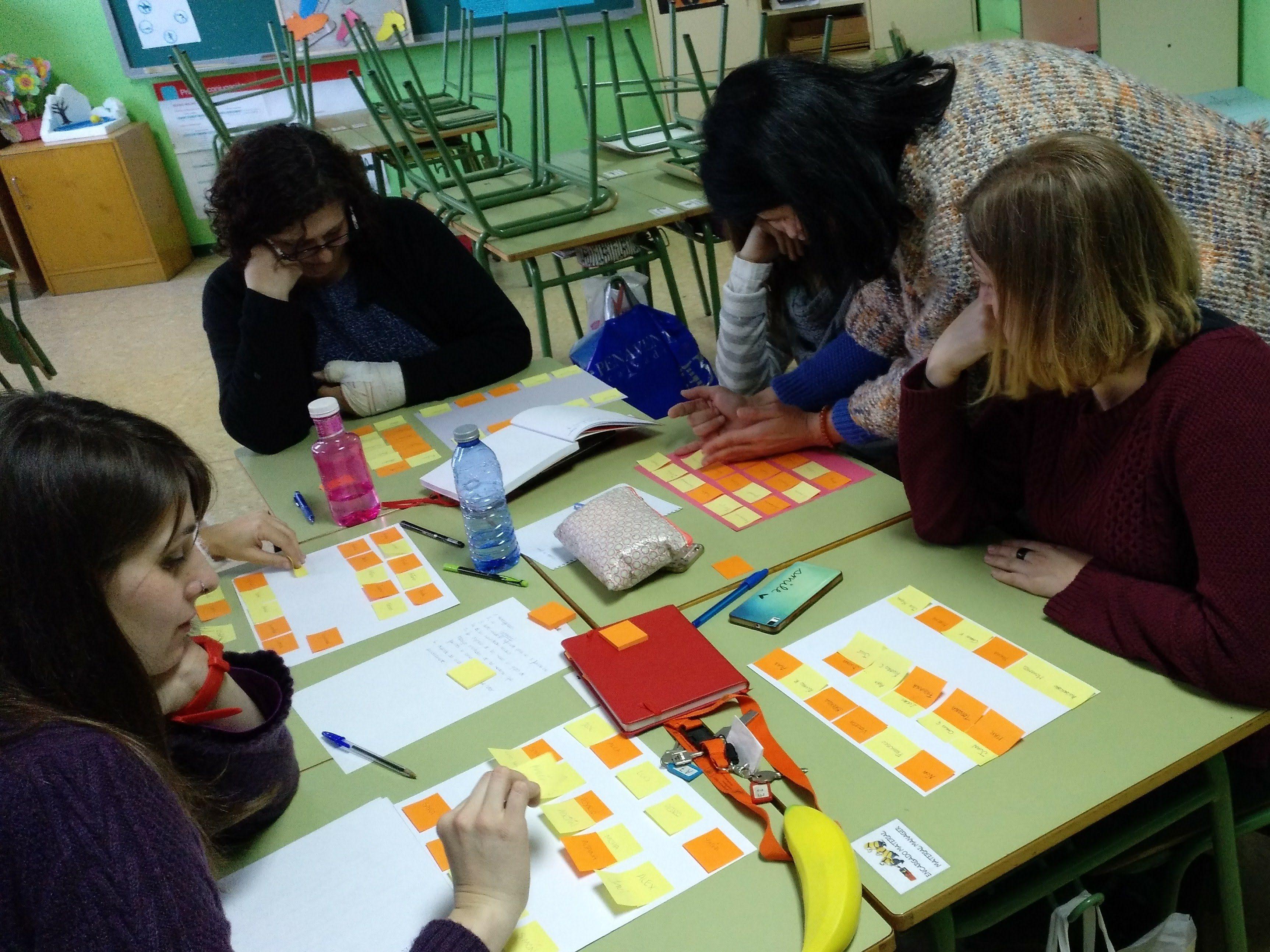 Cooperativo en el CEIP María Moliner